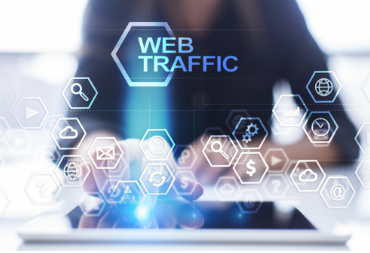 a-woman-is-using-a-web-traffic-screen